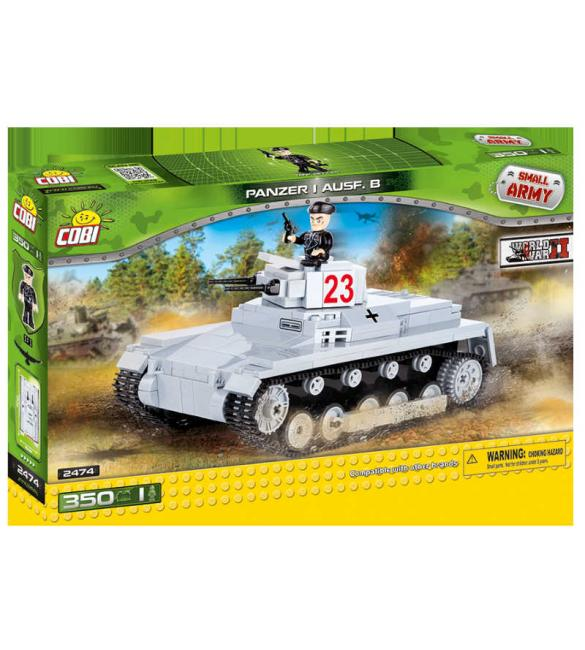 Конструктор Cobi Small Army WWII - Танк Panzerkampfwagen I