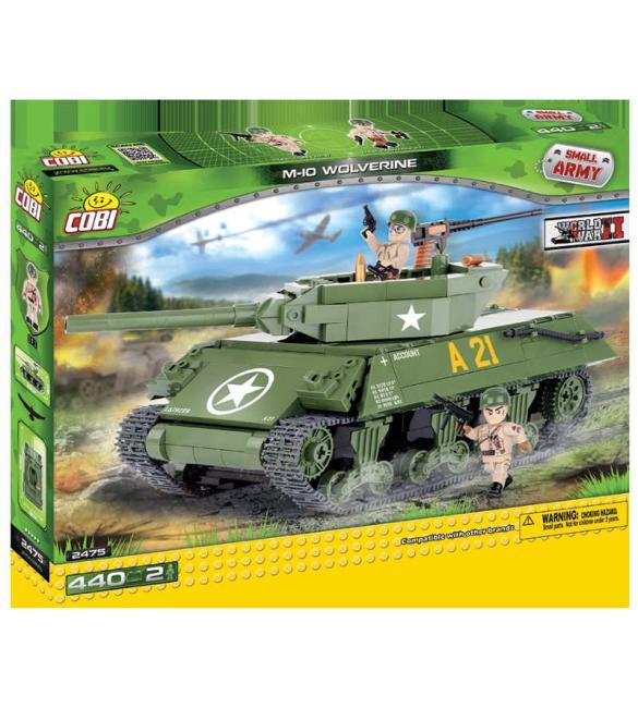 "Конструктор Cobi Small Army WWII - Самоходно-артилерийская установка М-10 ""Россомаха"""