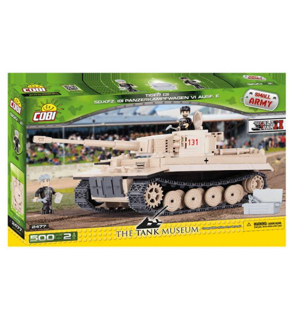 "Конструктор Cobi Small Army WWII - Танк ""Тигр"" VI"