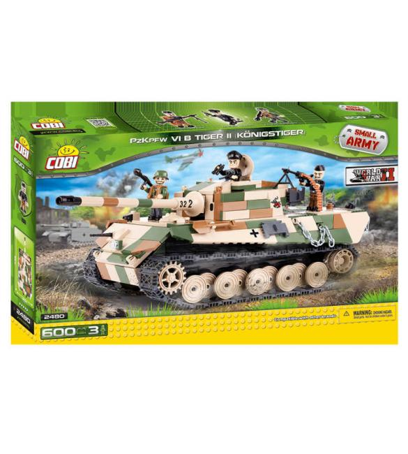 "Конструктор Cobi Small Army WWII - Танк ""Тигр II"" VI"