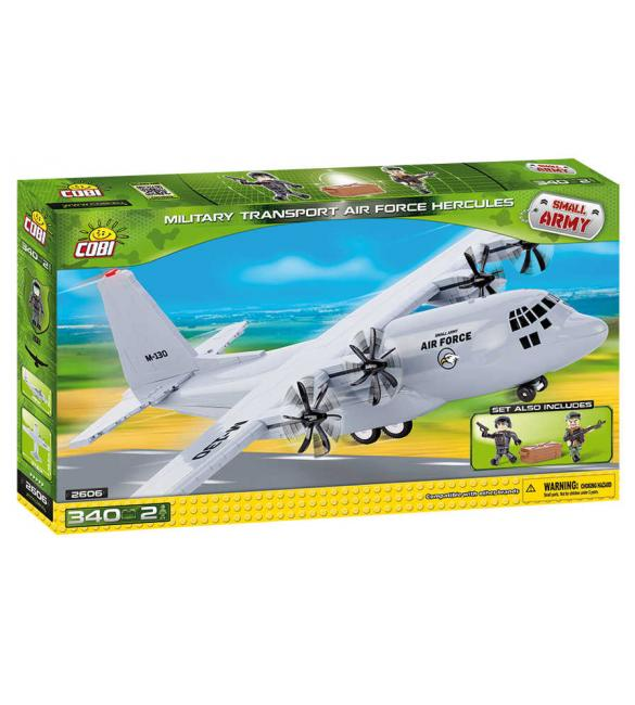 Конструктор Small Army Военно-транспортный самолет Hercules