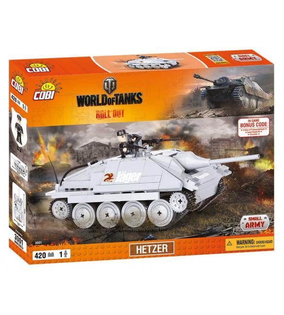 Конструктор Word Of Tanks Хетцер