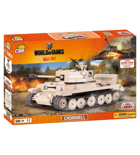 Конструктор Cobi Word Of Tanks Кромвель