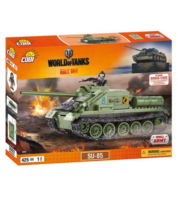 Конструктор Cobi Word Of Tanks СУ-85