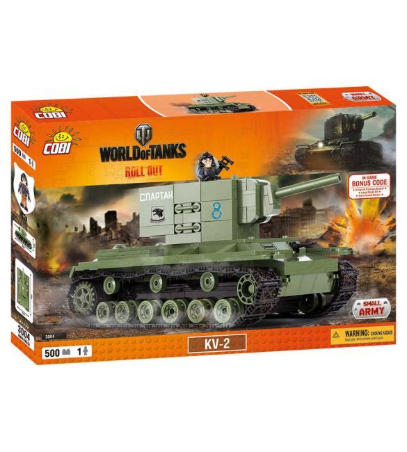 Конструктор Word Of Tanks КВ-2