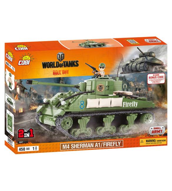 Конструктор Word Of Tanks Шерман Файрфлай