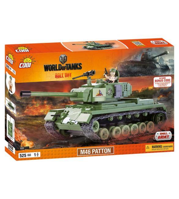 Конструктор Cobi Word Of Tanks М46 Паттон