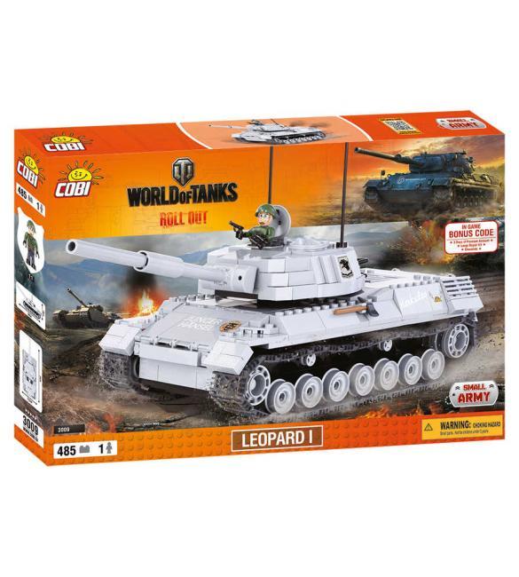 Конструктор Cobi Word Of Tanks Леопард I