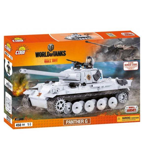 Конструктор Cobi Word Of Tanks Пантера