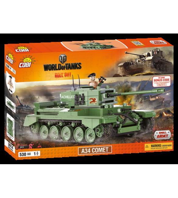 Конструктор Cobi Word Of Tanks A34 Комета