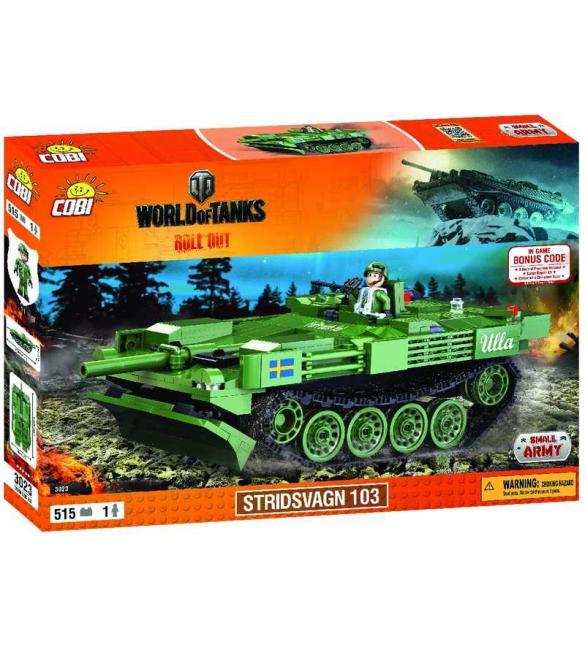 Конструктор COBI World Of Tanks Stridsvagn 103 (Strv.103)