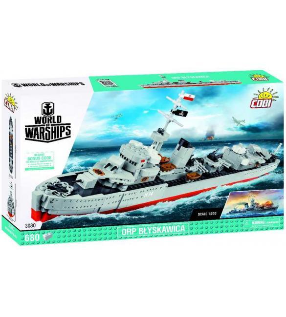 Конструктор COBI World Of Warships Эсминец Блыскавица