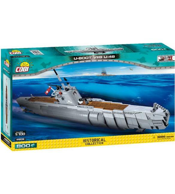 Конструктор COBI Подводная лодка U-48