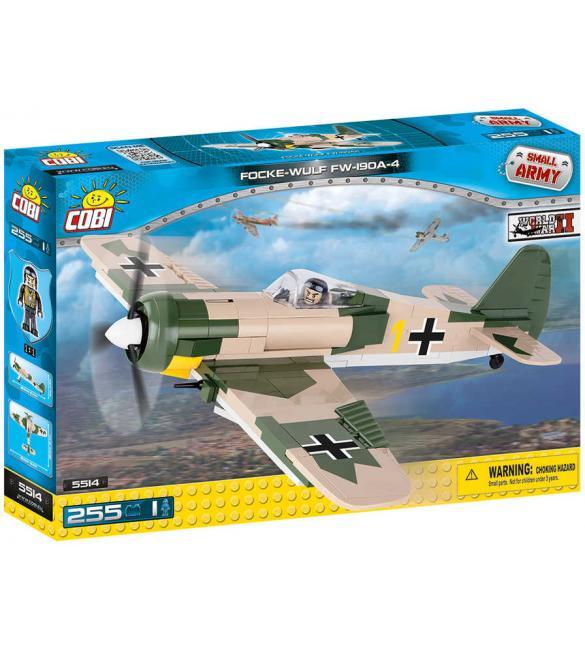 Конструктор Small Army WWII Самолет Фокке-Вульф