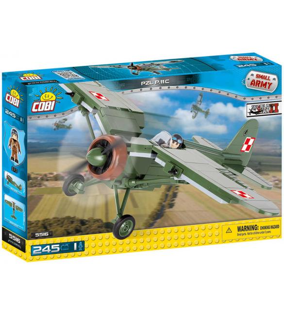 Конструктор Cobi Small Army WWII Самолет PZL P.11C