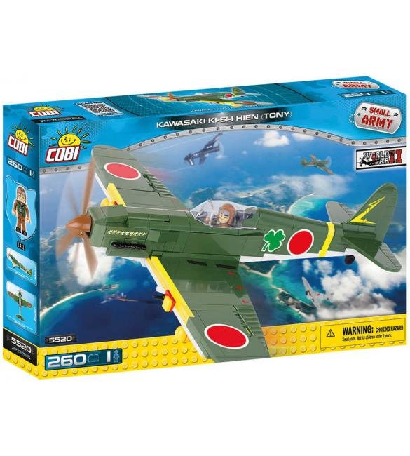 Конструктор Cobi Small Army WWII Самолет Кавасаки KI-61-II Тони