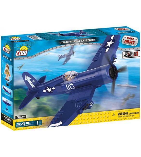 Конструктор Вторая Мировая Война Самолет Чанс-Воут F4U Корсар