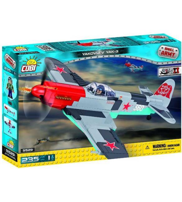 Конструктор COBI Вторая Мировая Война Самолет Як-3