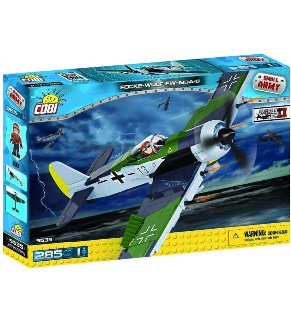 Конструктор COBI Вторая Мировая Война Самолет Фокке-Вульф FW-190A-8