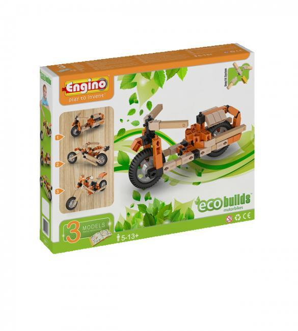 Конструктор Мотоциклы, 3 модели