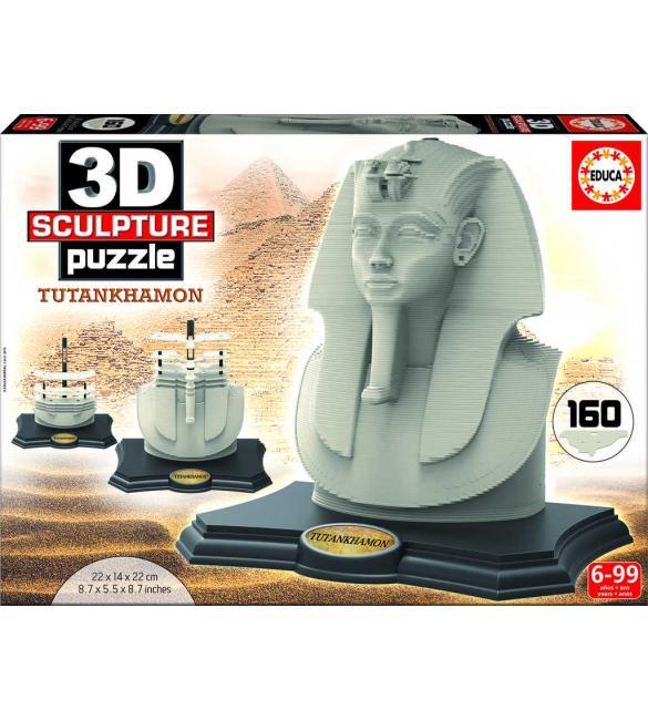 3D Скульптура - Тутанхамон