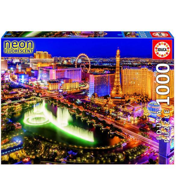 Светящиеся пазлы Лас Вегас 1000