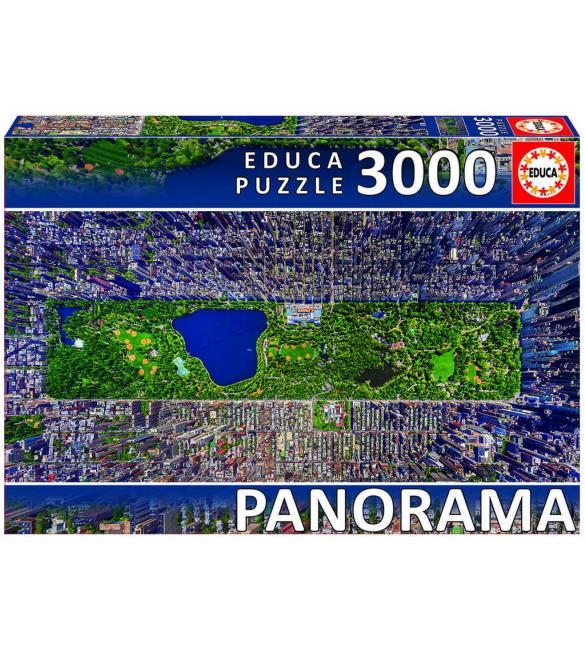 Пазлы Центральный парк Нью-Йорк 3000