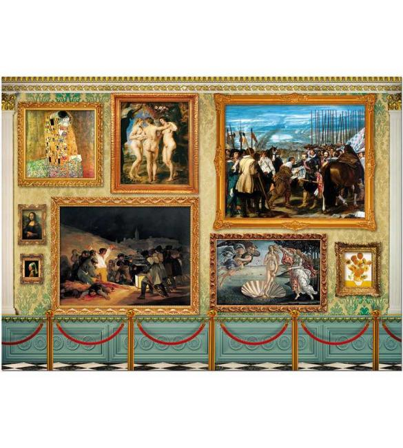 Пазлы Музей шедевров 12000