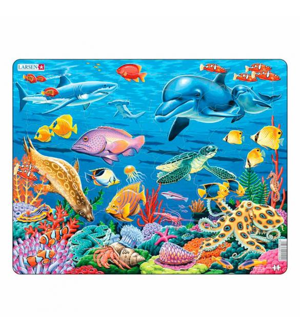Пазлы Коралловый риф