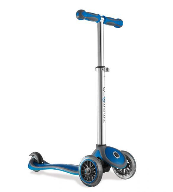Самокат MY FREE +2C синий, до 50 кг, 3+, 3 колеса