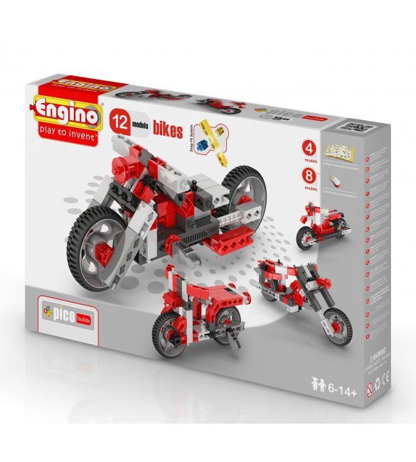 Конструктор Мотоциклы, 12 моделей