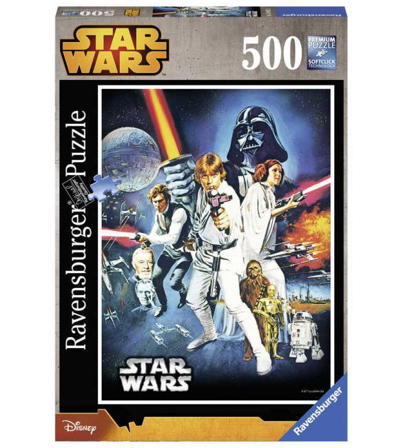 Пазлы Звездные войны. Новая надежда 500