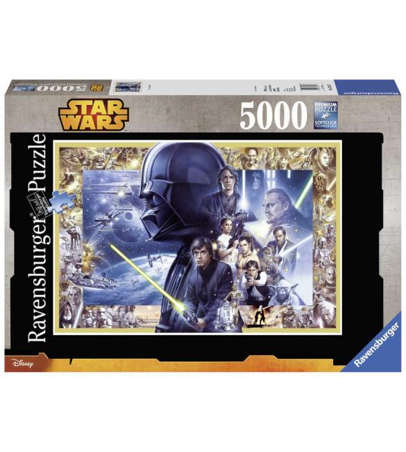 Пазлы Звездные войны. Сага 5000