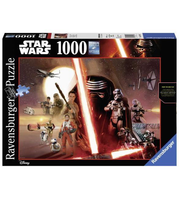 Пазлы Звездные войны. Пробуждение силы 1000