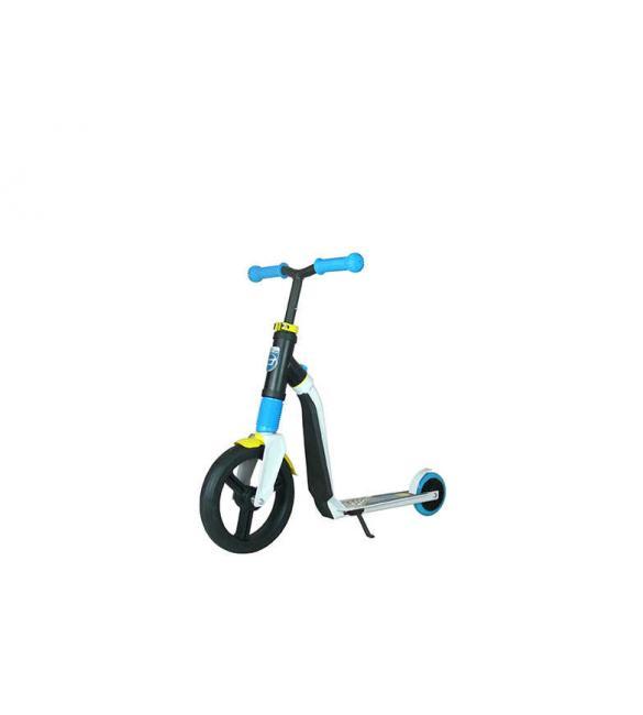 Самокат Scoot and Ride серии Highwayfreak 3.0 бело-сине-желтый, 3-5 лет до 50кг