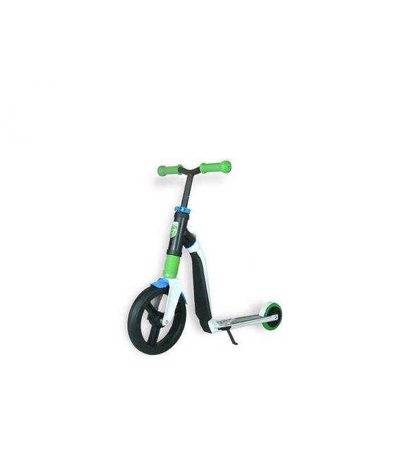 Самокат Scoot and Ride серии Highwayfreak 3.0 бело-зелено-синий, 3-5 лет до 50кг
