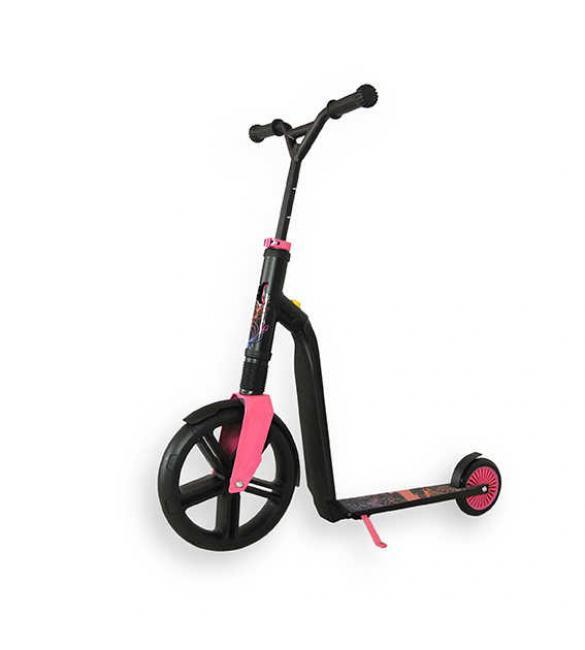 Самокат Scoot and Ride серии Highwaygangster чорно-розово-синий, от 5 лет, макс 100кг