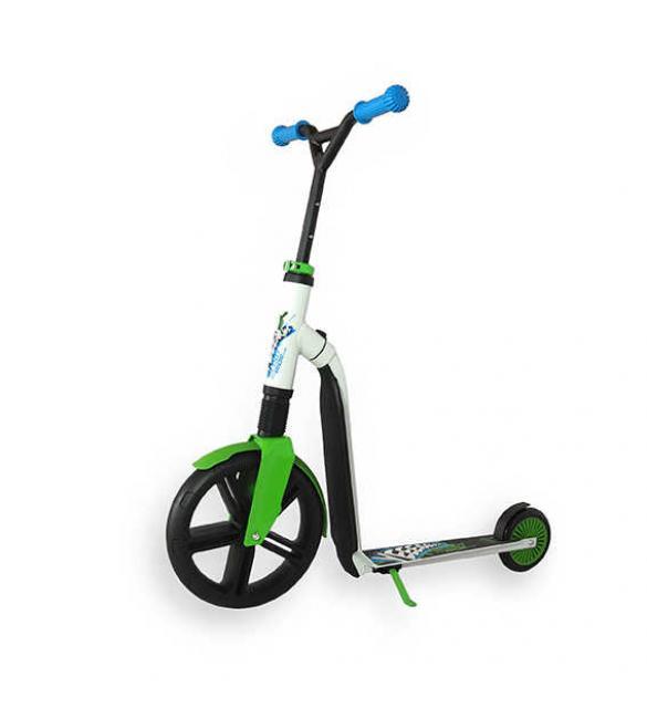 Самокат Scoot and Ride серии Highwaygangster бело-зелено-синий, от 5 лет, макс 100кг