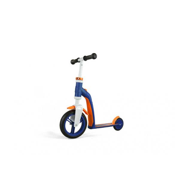 Самокат Scoot and Ride серии Highwaybaby сине-оранжевый, до 3 лет/20кг