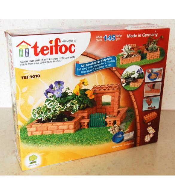 Керамический строительный набор-конструктор из кирпичиков Teifoc Сад Паола