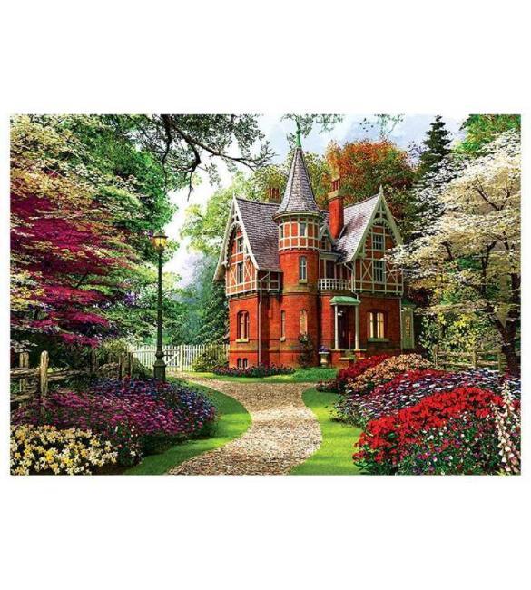 Пазлы Викторианский дом 1000