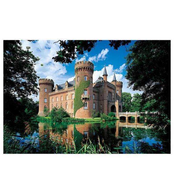 Пазлы Замок Мойланд Северный Рейн-Вестфалия Германия 1500