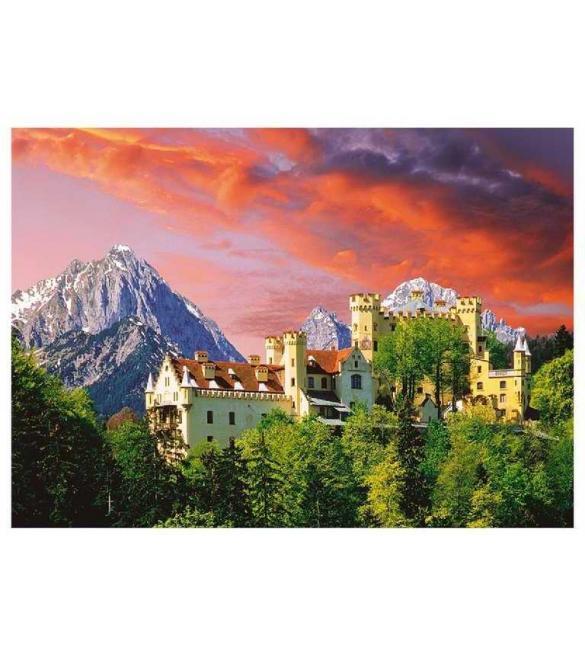 Пазлы Замок Хоэншвангау Бавария 2000