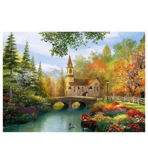 Пазлы Осенняя ностальгия 4000