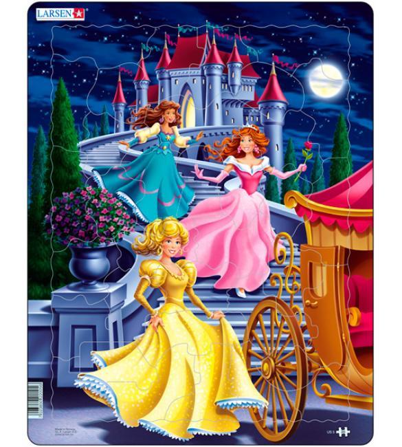 "Пазлы ""Три принцессы"""