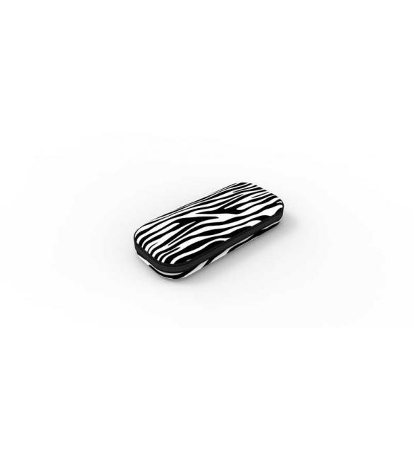 Пенал COLORZ BOX, цвет ZEBRA (черно-белый)