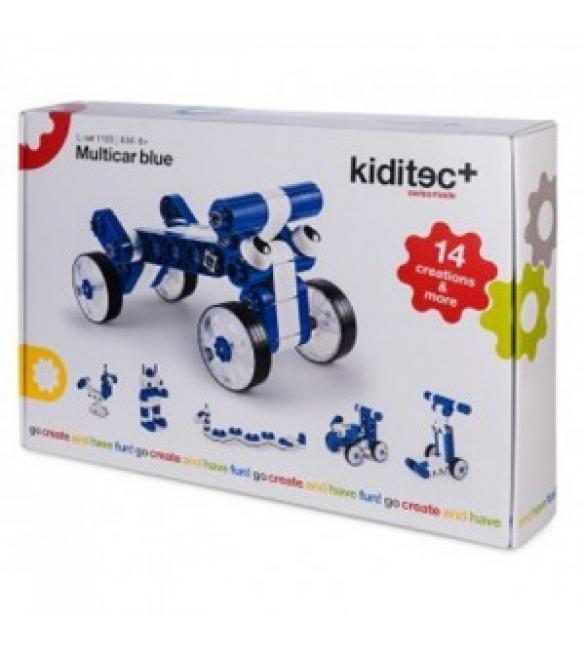 Конструктор Kiditec MultiCar blue