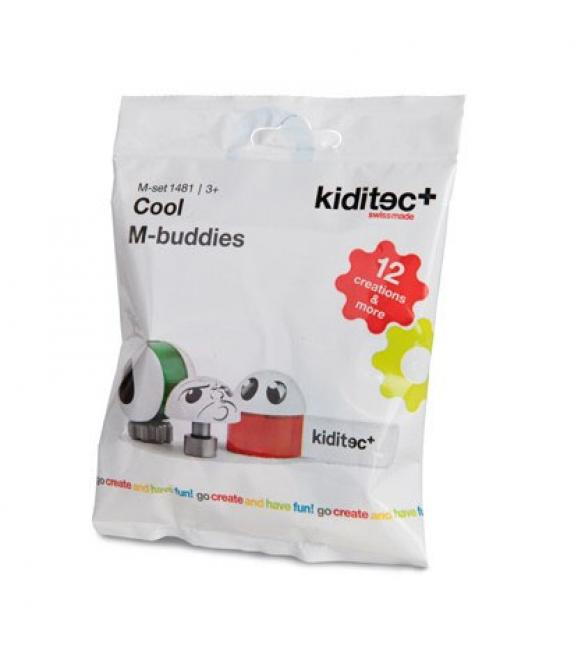Конструктор Kiditec Cool M-Buddies